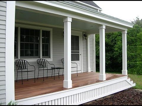 easy, diy front porch column/post wraps tutorial! - youtube