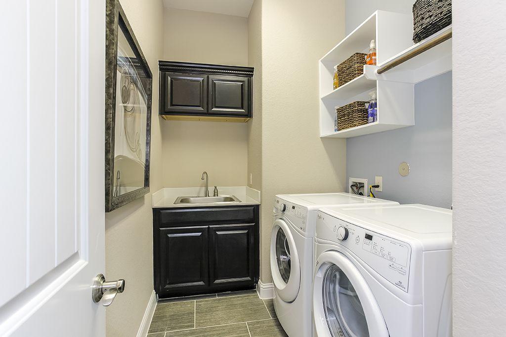 Gehan Homes Laundry Room Storage Storage Space Decorative