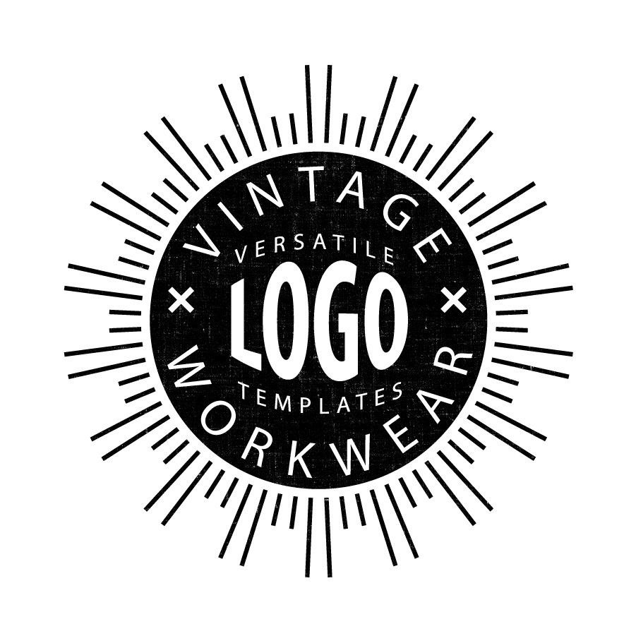 Vintage Logo Templates for Adobe Illustrator | VE CAMP IDEAS ...