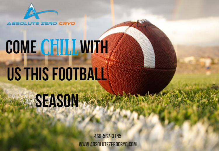 Kick off this #football season with a chill #cryotherapy session :) #sports