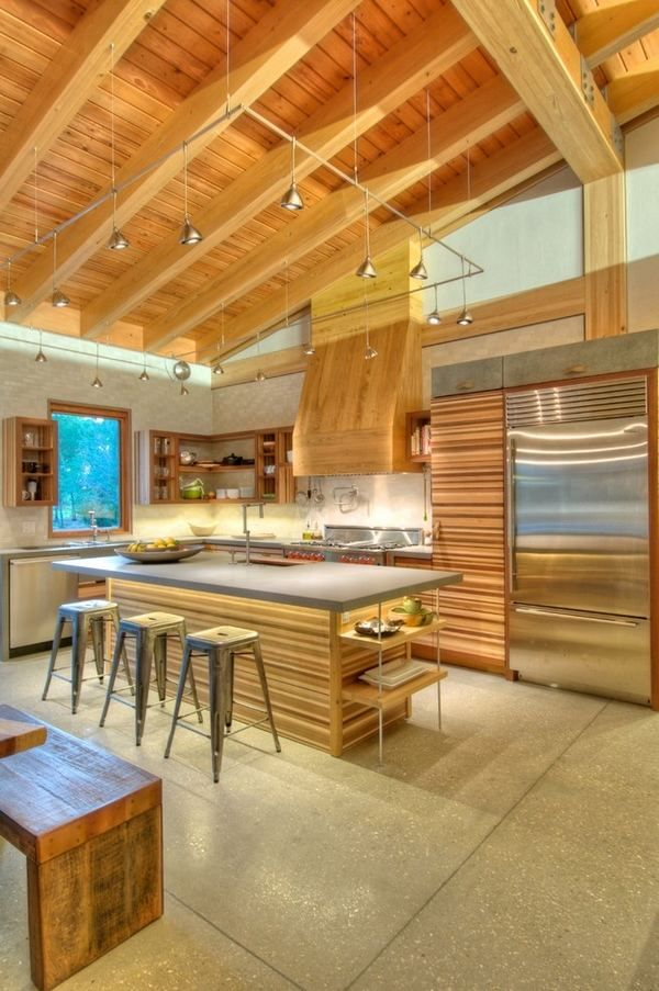 Vaulted Ceiling Lighting Ideas Modern Kitchen Lighting Solutions