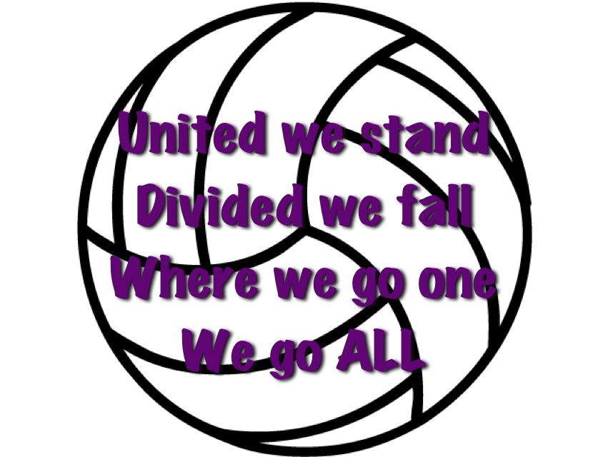 Volleyball Quote We Say This Before Every Game Volleyball Quote Chant In 2020 With Images Volleyball Quotes Volleyball Cheers Volleyball Chants