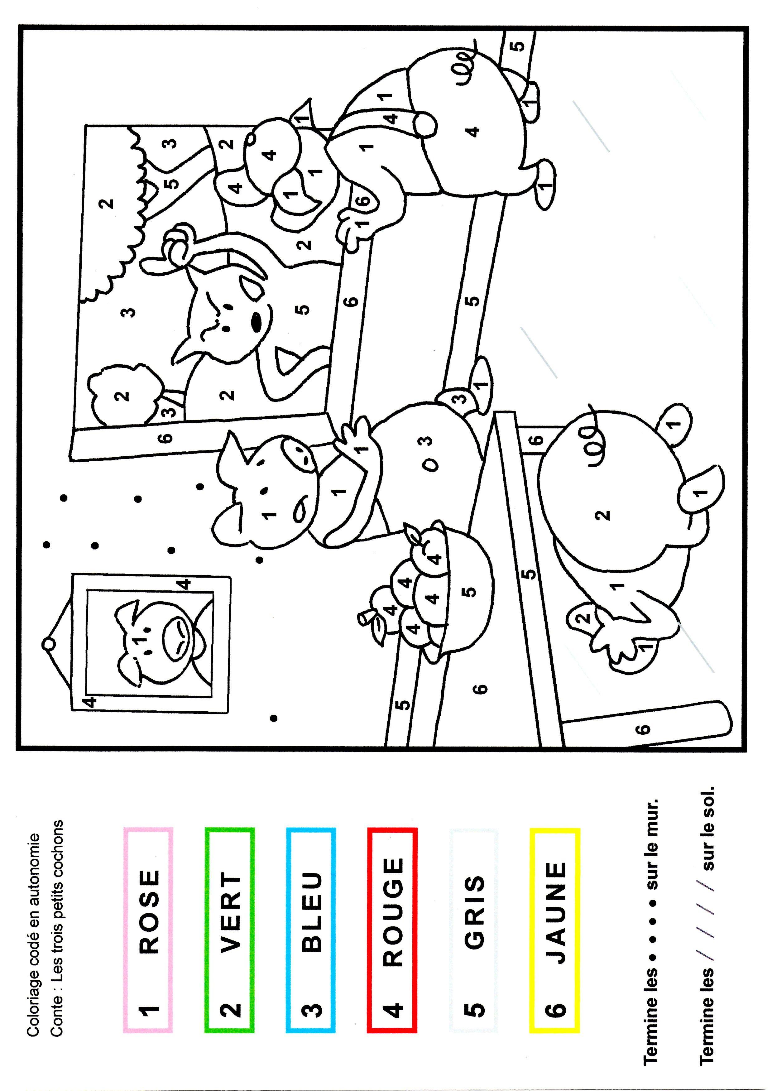 Coloriage code