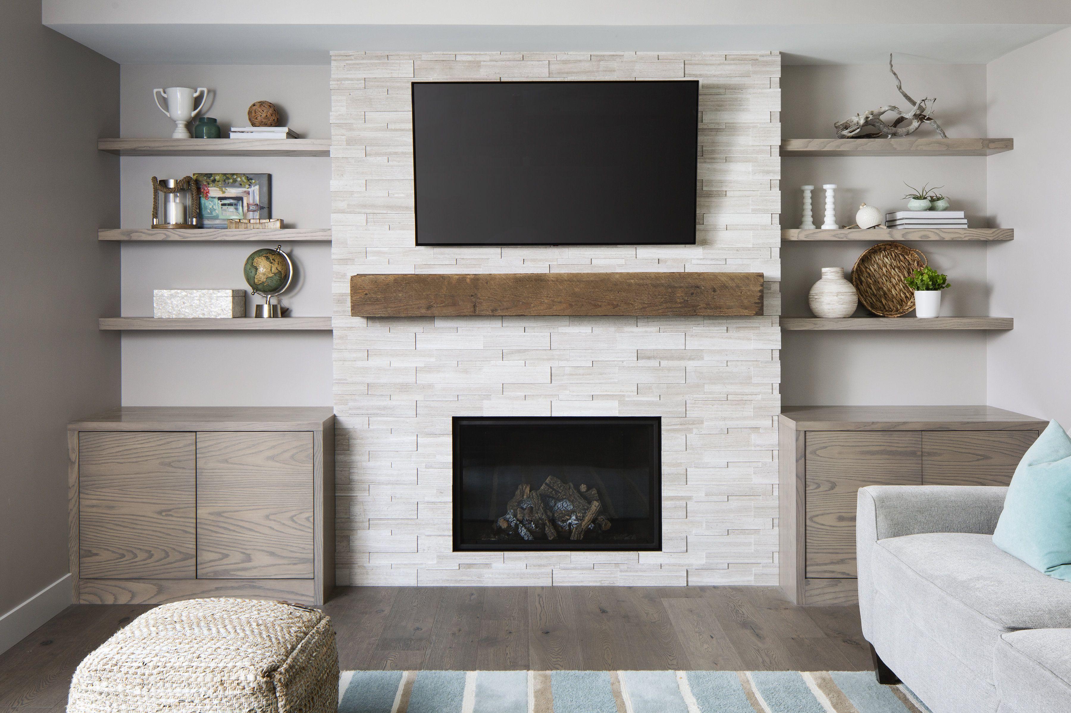 Photo of LD&A // Fireplace // Stone Fireplace // Family Room // Living Room // Bonus Room…,  #Bonus …