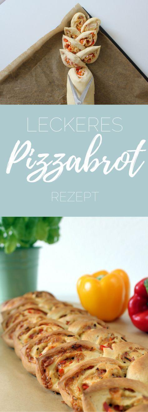 Pizzabrot zum Grillen - Rezept - pinselleicht - einfaches Hand Lettering für jeden!