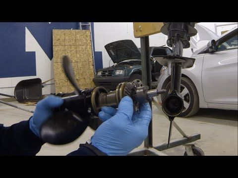 How To Disassemble Lower Unit On Yamaha   Hp