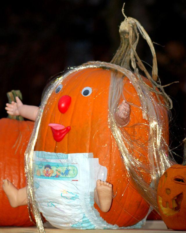 42 No-Carve Pumpkin Decorating Ideas Baby  preschool Pinterest