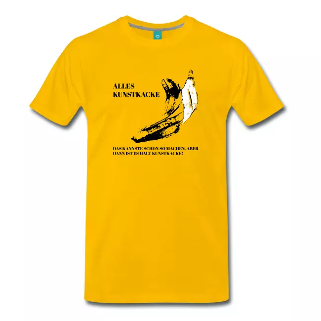 Das kannste schon so machen….gelbe Shirts | Männer Premium T-Shirt