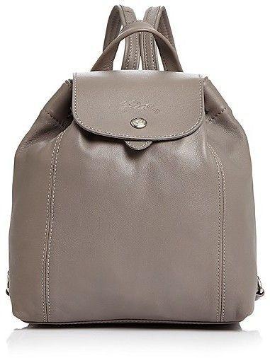 e274e0fdf08d Longchamp Le Pliage Leather Backpack Backpack Handbags