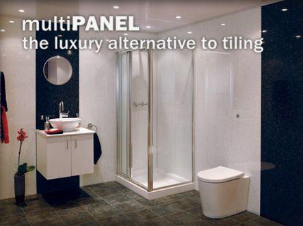 Shower Panels Instead Of Tiles Google Search Bathroom Pinterest Shower Panels
