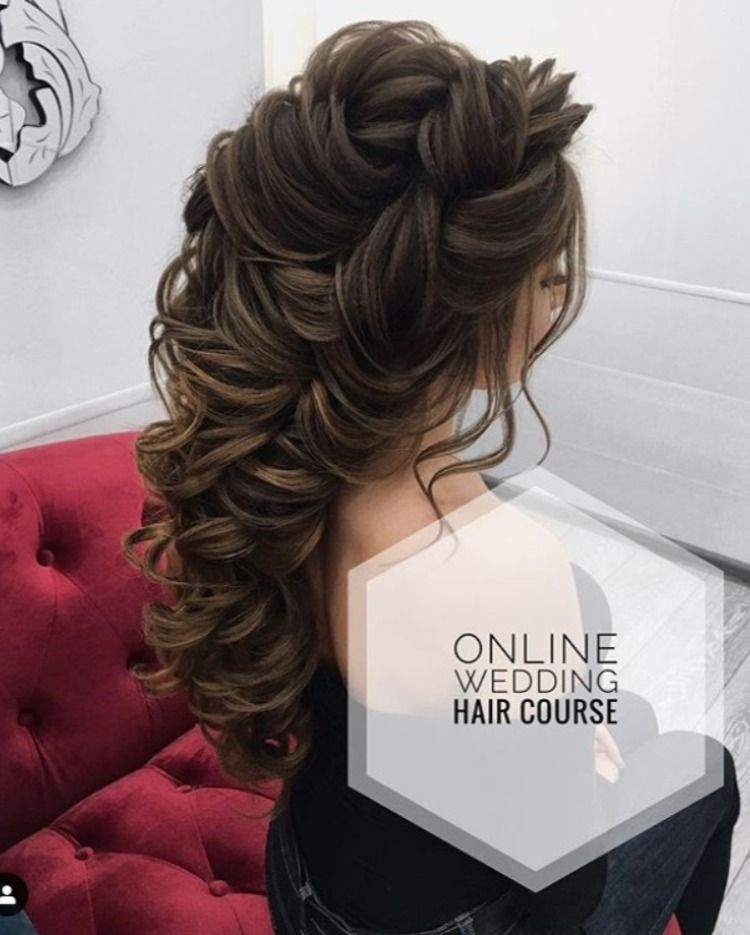 Online Video Hair Styling Classes In 2020 Hair Styles Wedding Hair Up Up Hairstyles