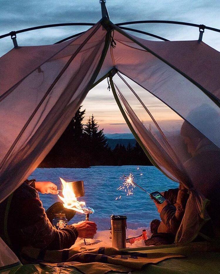 Crater Lake camp vibes. #craterlakeoregon