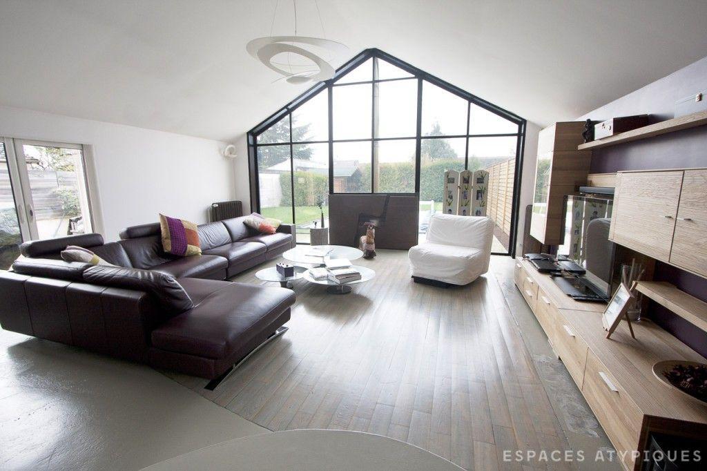 Val d\'Oise : Maison d\'architecte avec piscine.   Espaces Atypiques ...