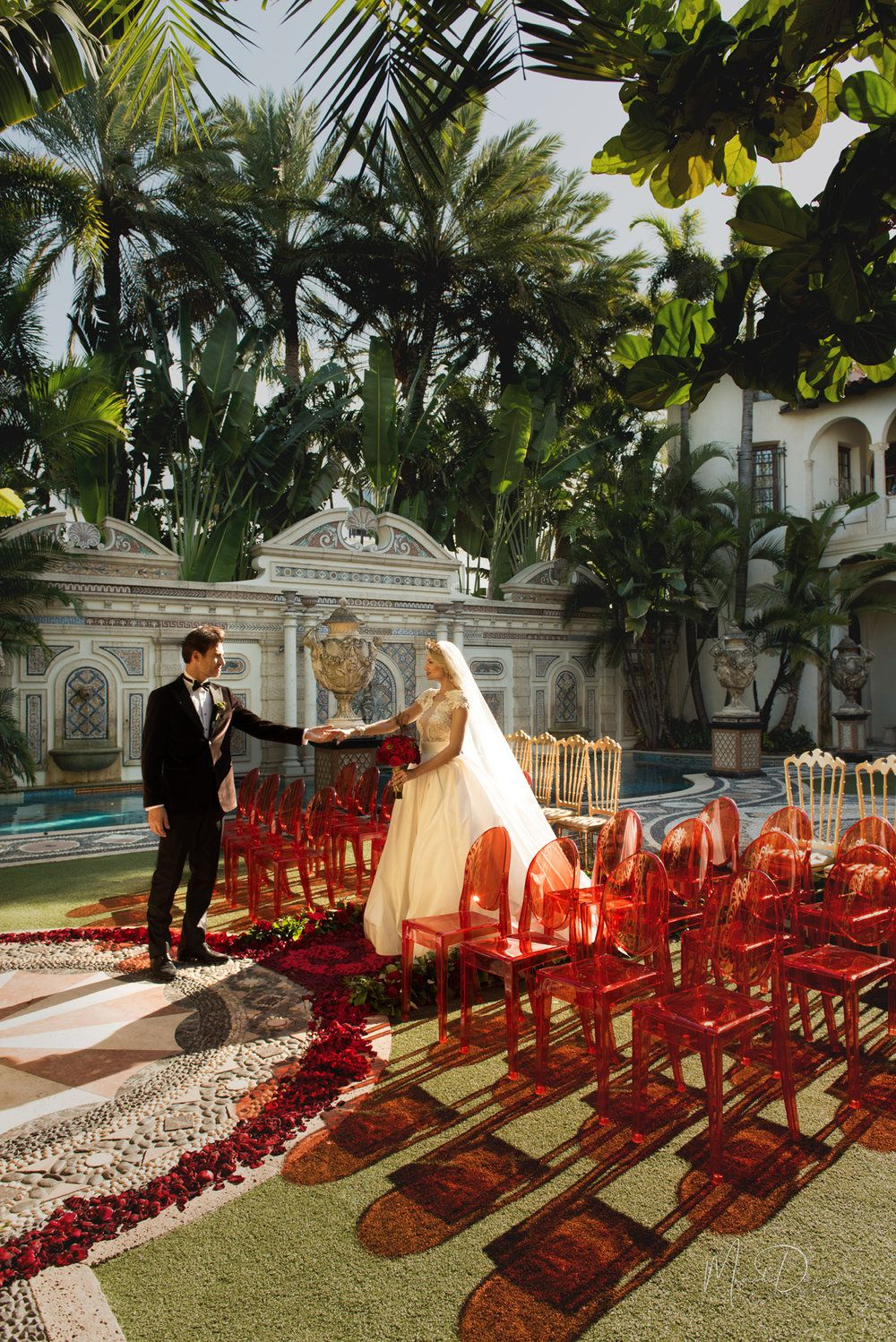 Pin On Versace Mansion Wedding Inspiration