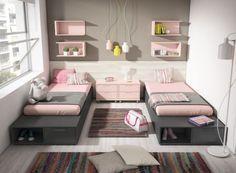 Resultado de imagen de cuartos juveniles para mujeres pequeños ...