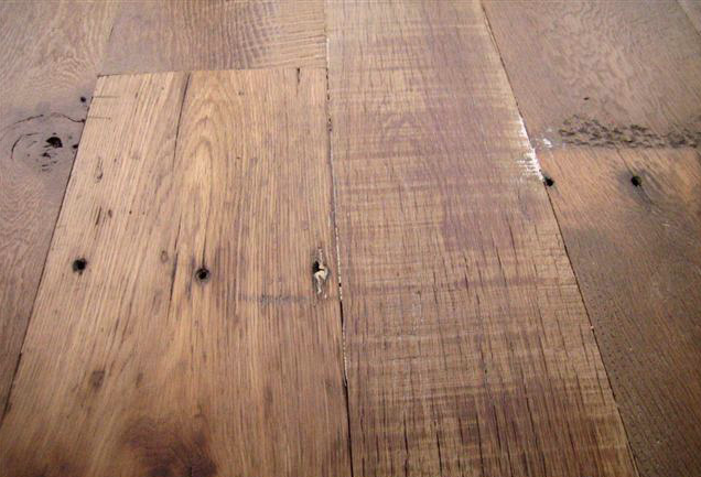 Reclaimed wood @ accent walls or face of knee wall