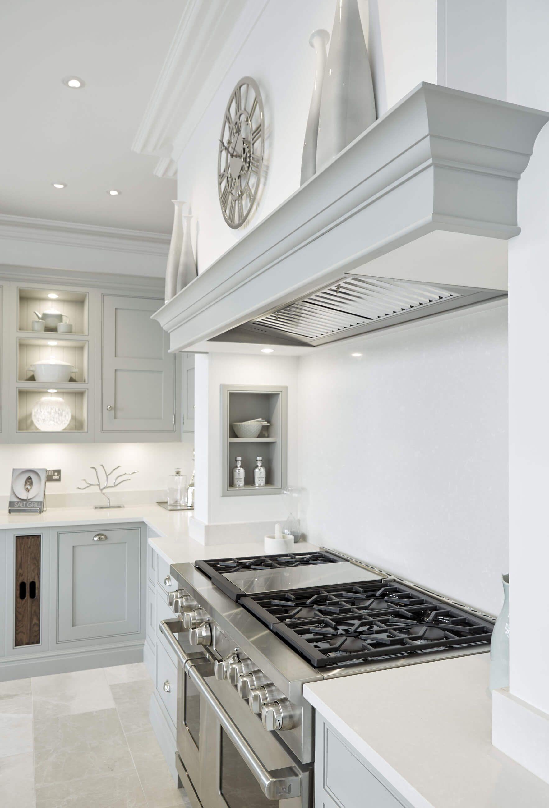 Grey Family Kitchen #greykitcheninterior