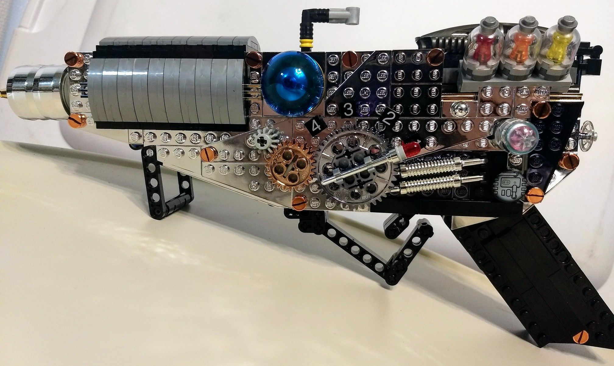 Tesla Gun Update with more chromed plates from Chrome Block City