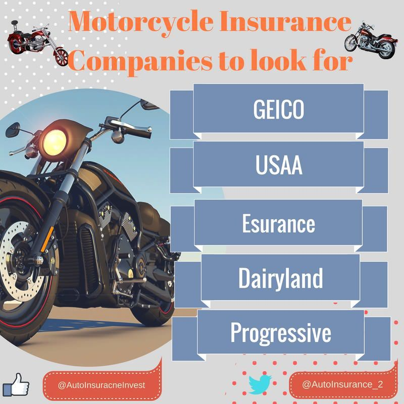 Motorcycle Insurance Companies For Young Bikers Car Insurance