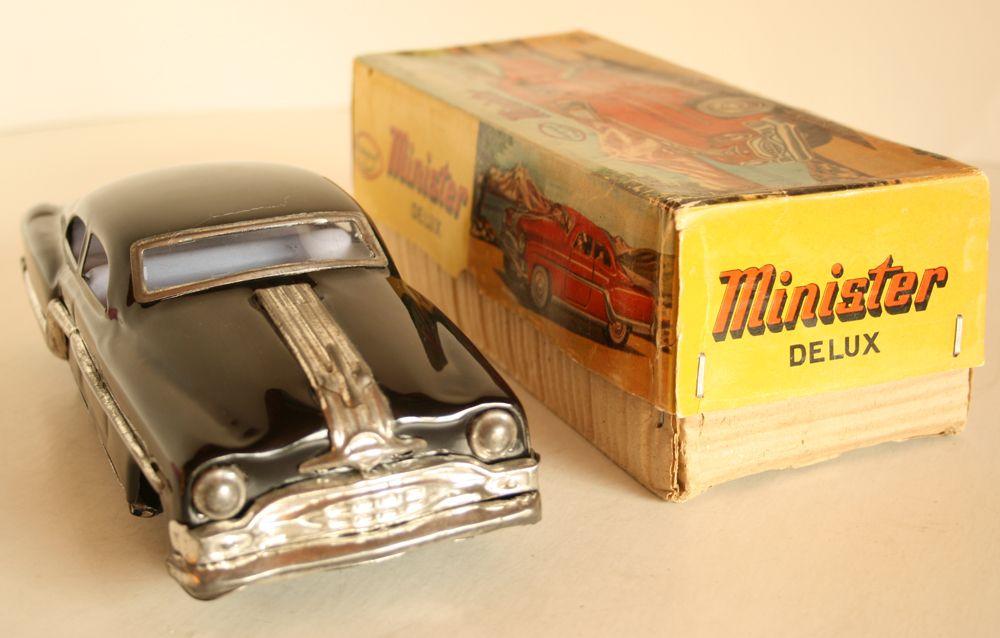 Tin Toy Car Tin Toys Toy Car Vintage Toys