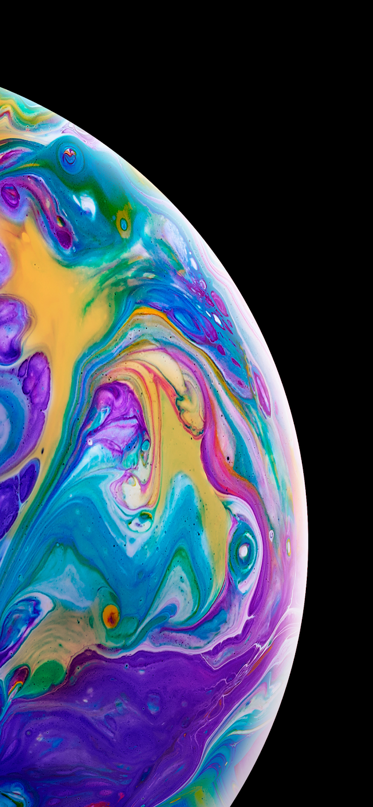 Another Colorful Bubble Iphone X Wallpaper Iphone Android Background Followme Apple Wallpaper Iphone Iphone Background Wallpaper Iphone Wallpaper