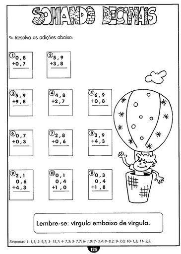 Pin Em Matematica 1 2