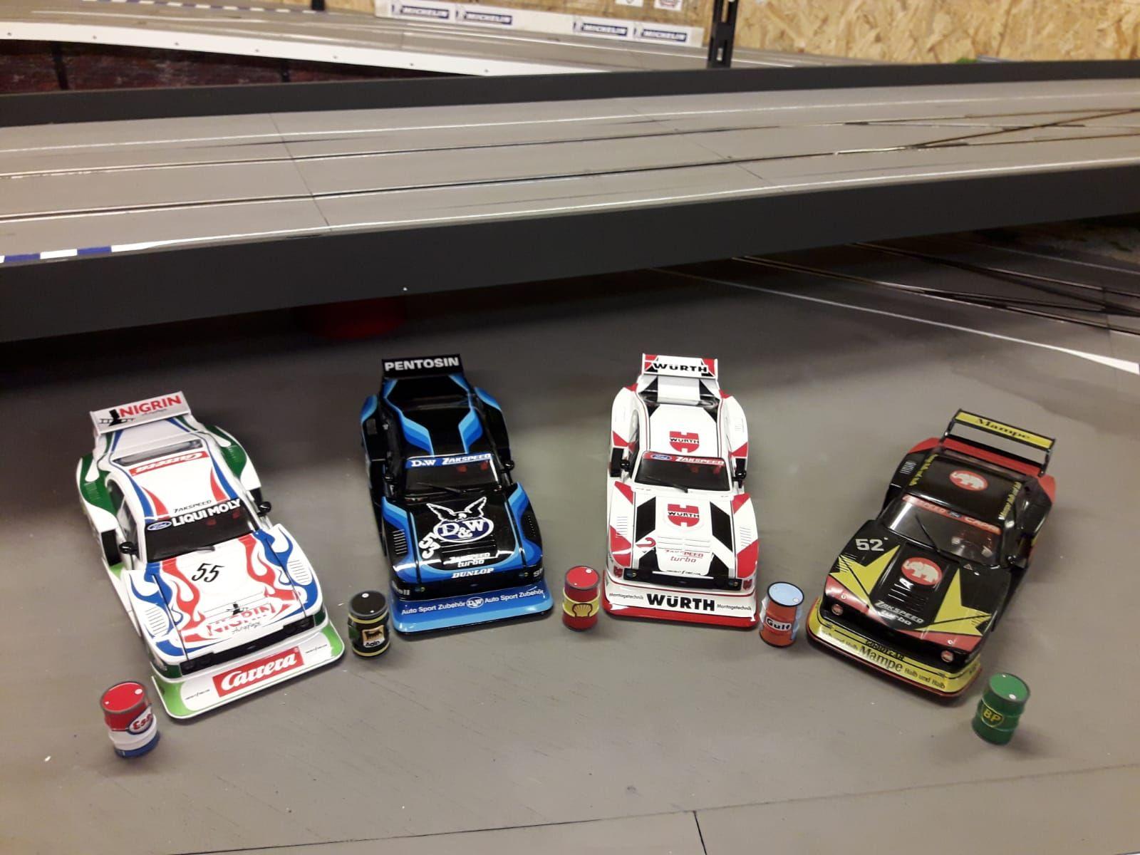 Pin Von Will Sellers Auf Slot Car Dreams Ford Capri Carrerabahn Carrera