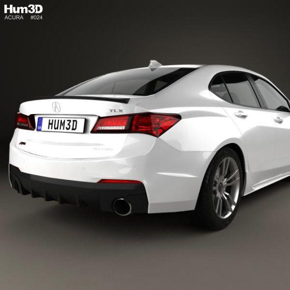 Acura Tlx, Acura, Editable