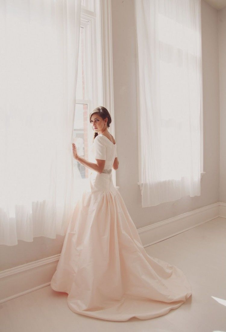 Anne Barge Modest Wedding Dresses - pictures, photos, images