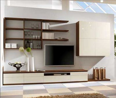 TV Wall Shelf Set