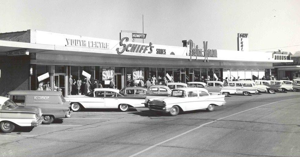Schiffs 1959 Midwest City Oklahoma Street Scenes Scenes Midwest City
