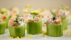 These easy to eat and delicious - great to serve as an appetizer.