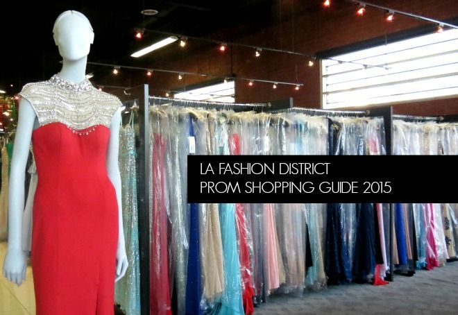 The LA Fashion District has over 40 prom dress stores, selling prom ...