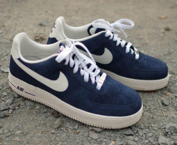 Où acheter les Nike Air Force 1 Low Blazer Gris & Bleu ? | Aurr