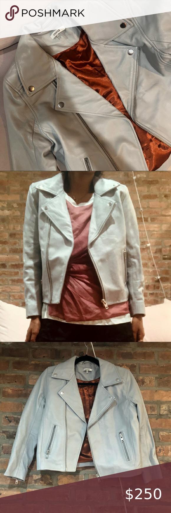 Ganni Leather Jacket Leather Jacket Leather Jacket Details Ganni Jacket [ 1740 x 580 Pixel ]