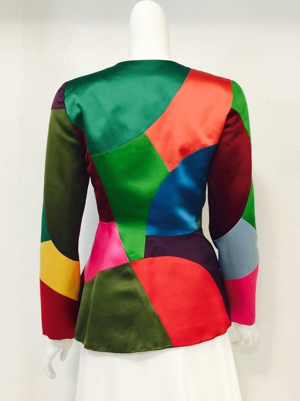 3cb9a4bfe66 1984 YVES SAINT LAURENT Jeweled evening jacket YSL | Wonderful Clothes | Yves  saint laurent, Saint laurent, Ysl