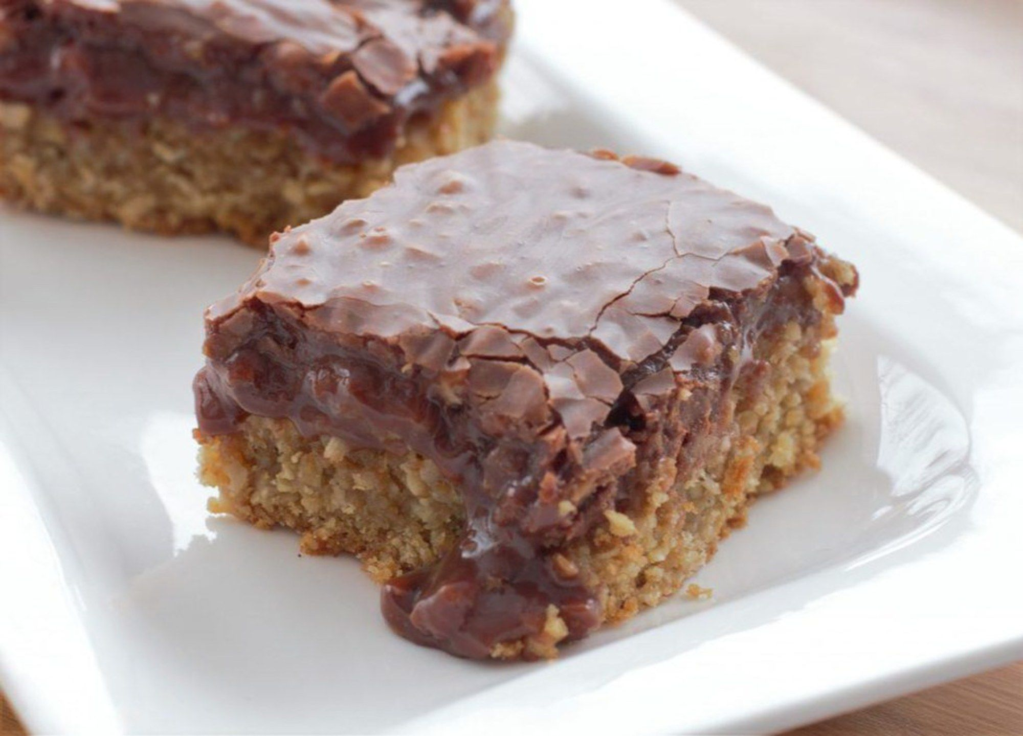 These chocolate oatmeal bars are easy to make and one of the yummiest treats ever made.