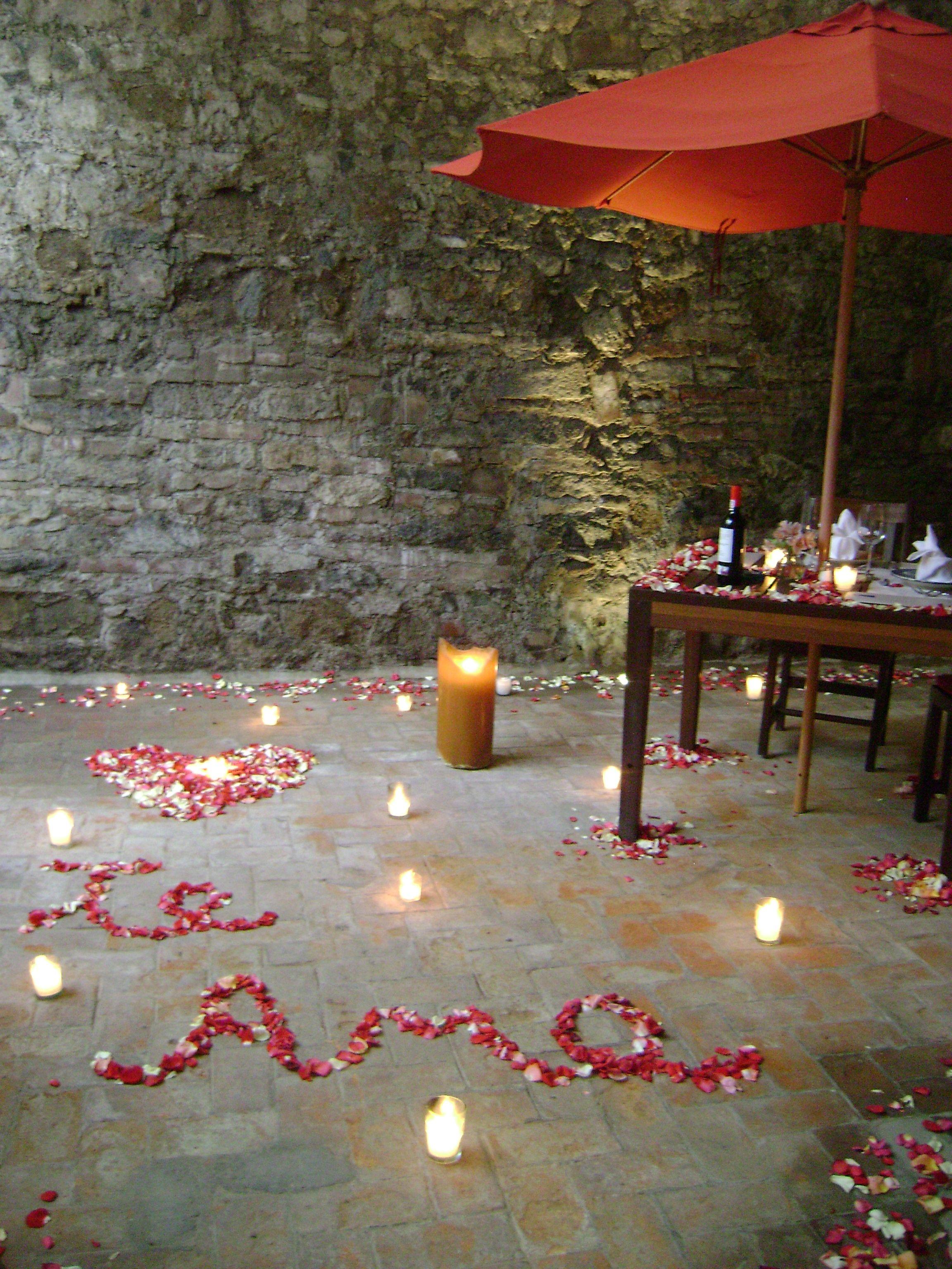 Listos para cualquier cena romantica casa reyna - Noche romantica en casa ideas ...