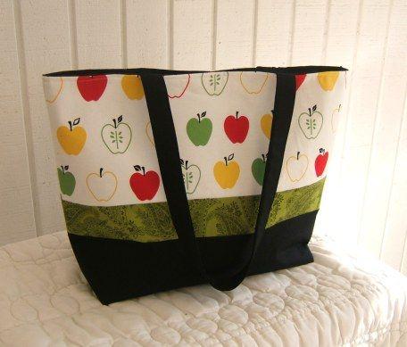 Mrs. Langley\'s Tote Bag Sewing Pattern – Free!!! | Pinterest ...