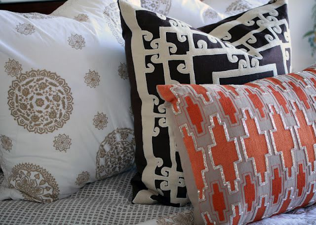 Pillows From Blueseeds Home Decor Store In Phoenix, AZ.  Www.withlovefromkat.com