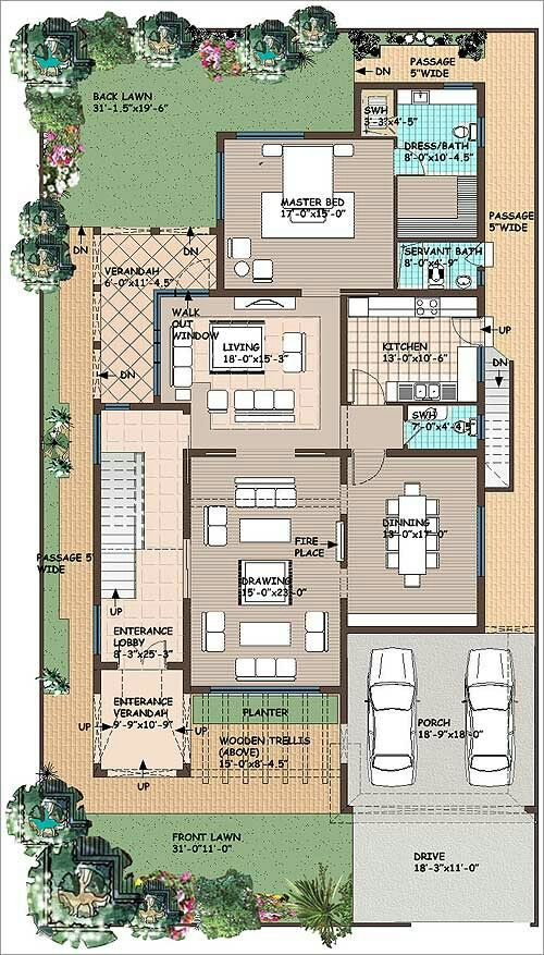 Dream house plans small floor also if you have  plot size of feet by   sqmtr or rh pinterest
