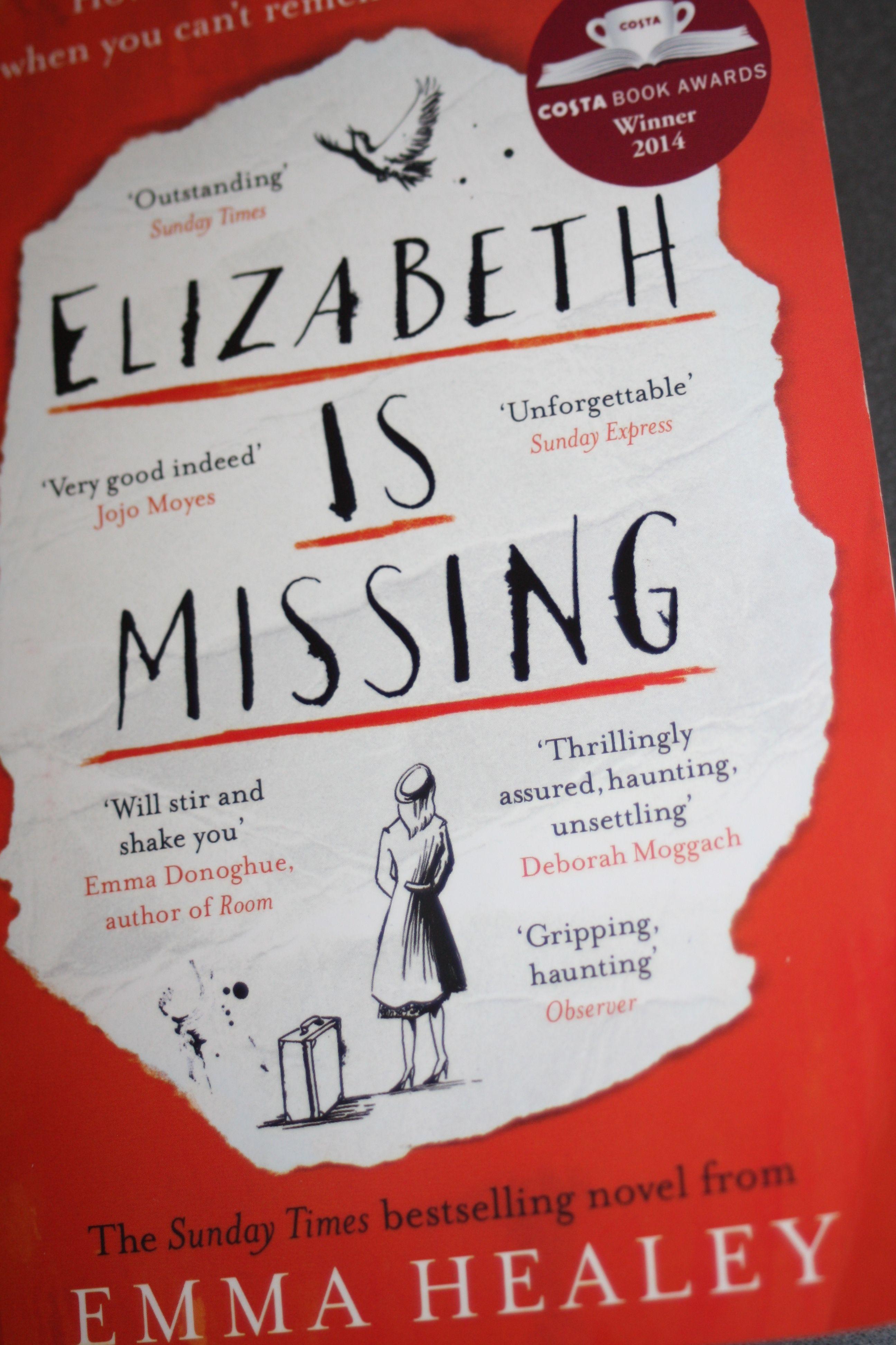 Elizabeth is missing by emma healey books emma donoghue