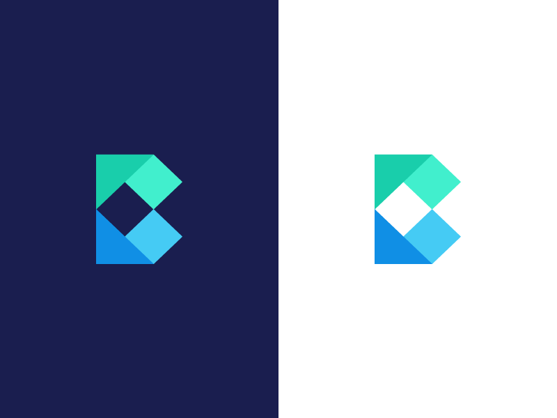 B Paper Document Origami By Deividas Bielskis Design Popular Dribbble Shots