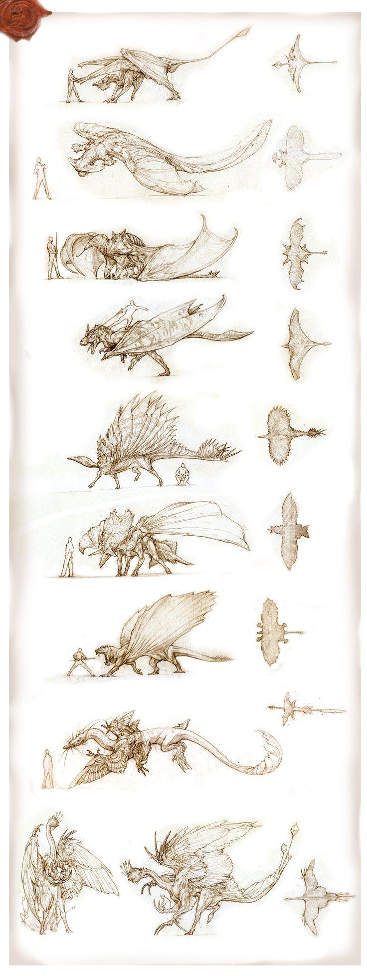 Dinosaurs as dragons!
