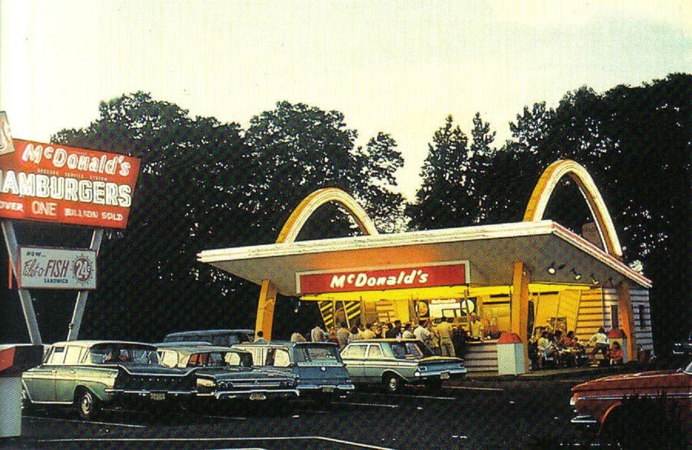 Original Mcdonald S Fast Food Restaurants Drive Ins