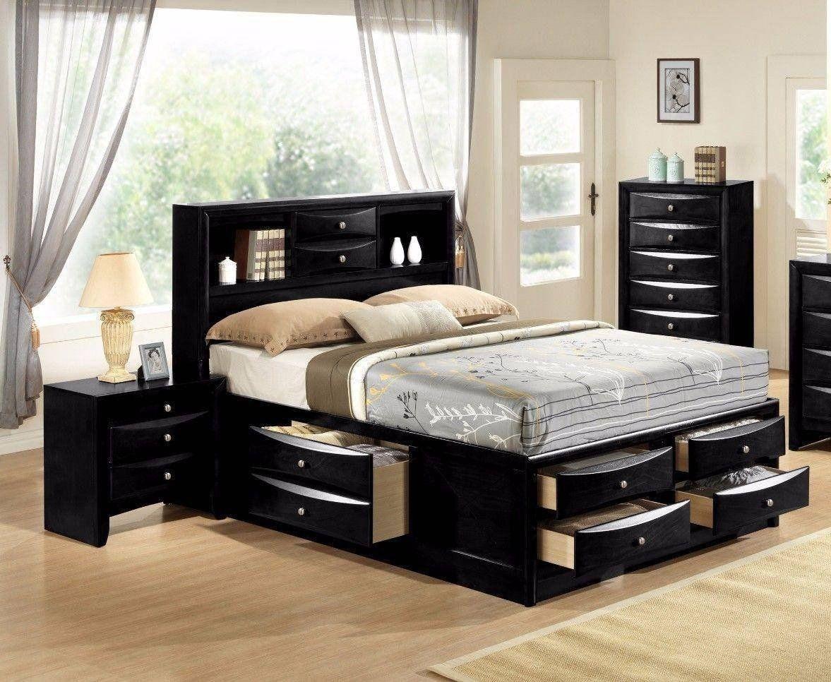 King Bedroom Furniture Set Beautiful Crown Mark B5 Emily Modern