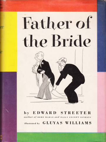 Father Of The Bride Book Club Edition 1949 Taigan