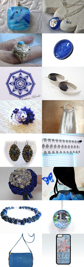 Monday Blues  by Angie Bisset on Etsy--Pinned with TreasuryPin.com