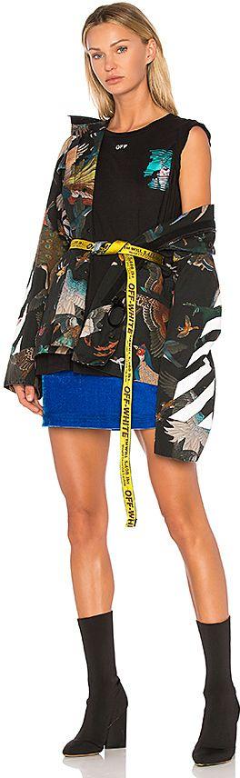 usa billigt salg sarte farver nogensinde populær Off-white mini industrial belt | Off white belt, Off white ...