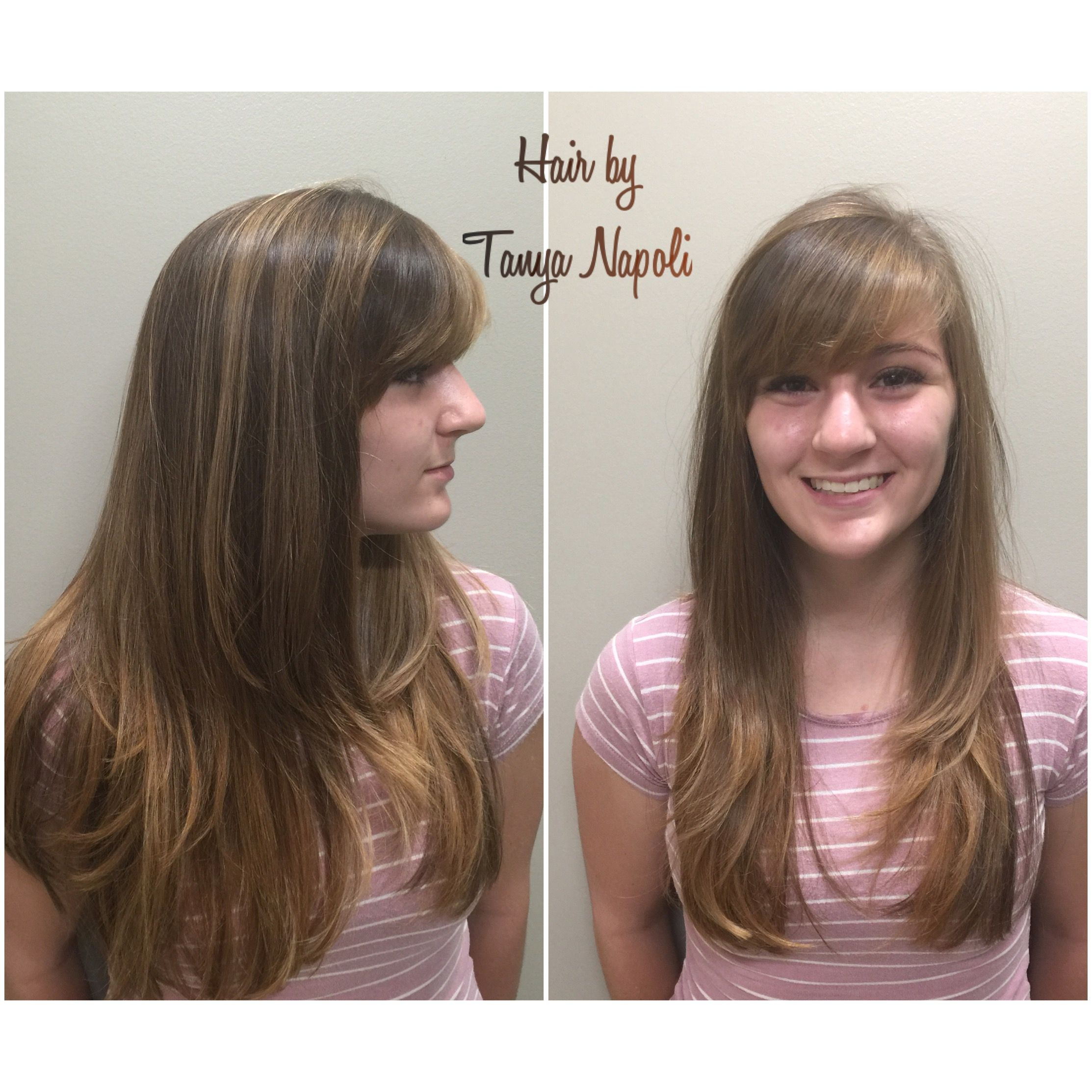 Sombre Virginia head of hair !!! So pretty hair done by Tanya Napoli